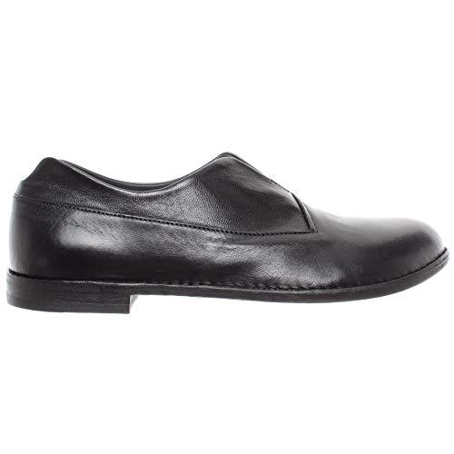 PANTANETTI Damen Schuhe 12222D Softy Skin Nero Leder Schwarz Made In Italy Neu