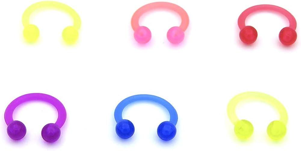 Cheap bargain Newbeeler Fake Nose Rings Piercing Overseas parallel import regular item Sept Ring Faux