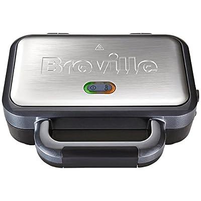 Breville VST041 2 Slice Deep Fill Sandwich Toaster - Silver.