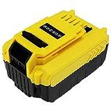 subtel® Batterie 18V, 5Ah, Li ION Compatible avec Stanley FMC625D2, FMC645D2,FMC675B, FMC688L, FMC675B-XE, FMC698B Accu de Rechange FMC 687L Outil portatif