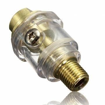0,64 cm BSP Mini In-line olie voor pneumatische gereedschappen en compressorbuis