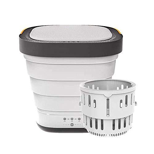 Tragbare Waschmaschine Mini Trockner, Mobile Faltwaschmaschine Camping Trockner Compact Automatische Waschmaschine Mit Kleinem Eimer