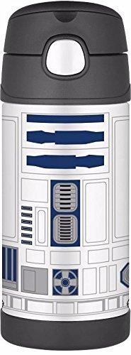 『THERMOS サーモス Star Wars スターウォーズ R2D2 R2-D2 ストローボトル 真空断熱 水筒 355ml』の1枚目の画像