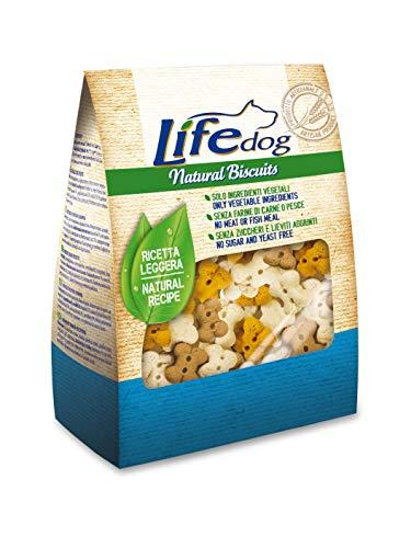Life Dog 60003 Biscotti Folletti alla Vaniglia, 500 Grammi