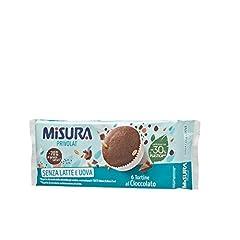 Idea Regalo - Misura Tortine al Cioccolato Privolat | Senza Latte e Uova | Confezione da 240 grammi