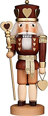 Christian Ulbricht Nutcracker - Heart King Natural - 37,5 cm / 14.8 inch