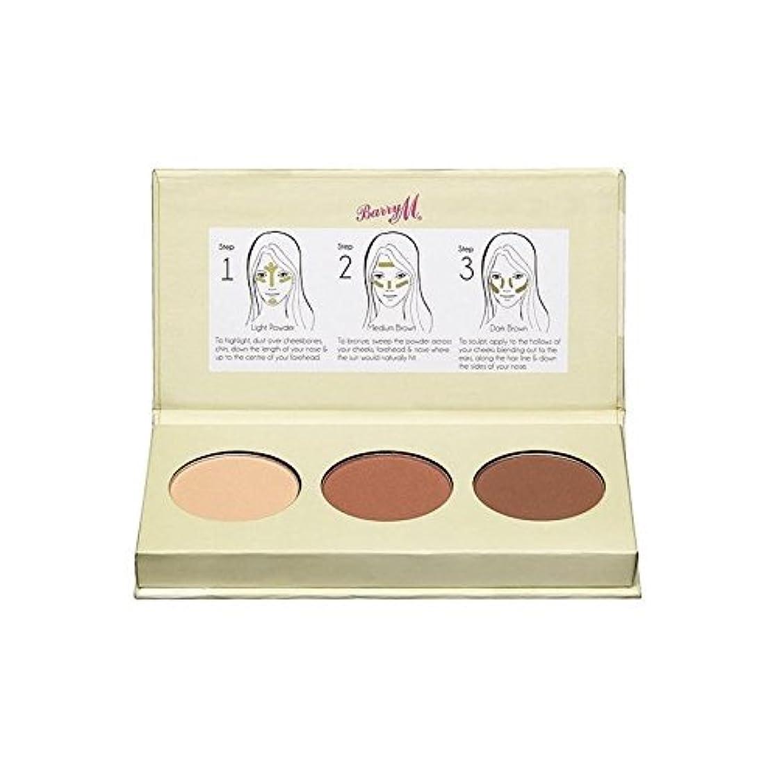 会社資源偽装するBarry M Chisel Cheeks Contour Kit (Pack of 6) - バリーチゼルの頬の輪郭キット x6 [並行輸入品]