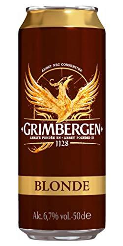 Grimbergen Blonde 50cl (pack de 12 canettes)