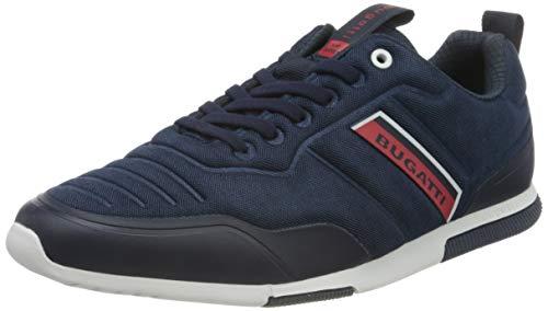 bugatti Herren 322732056900 Sneaker, Dark Blue, 42 EU