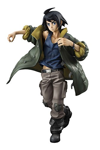 Megahouse Mobile Suit Gundam Iron-Blooded Orphans Mikazuki Augus GEM PVC Figure