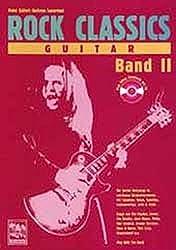 ROCK CLASSICS \' Guitar\' 2. Inkl. CD: Play Along Songbook und CD. Die besten Rocksongs in spielbaren Originalversionen. Mit Tabulatur, Noten, ... Lizzy, Steppenwolf u. a. Play With The Band