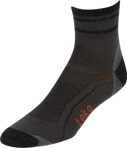 Teko S3O Bio Merino Herren Ultralight MiniCrew Socken, Herren, Moonshadow/Charcoal