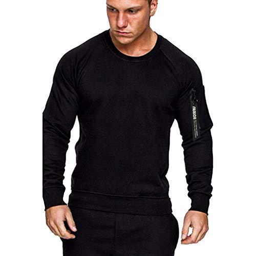 Homme Casual Sweats à Capuche Épaisse Veste à Capuche décontracté à Manches Longues Sweat-Shirt Chaud Veste Ete Décontracté Casual Survêtements Grande Taille Tops Outwear Blouse Sweat Chic