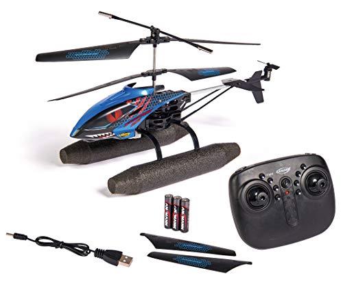 Carson 500507148 Easy Tyrann 290 Waterbeast - Helicóptero teledirigido para Exterior, RTF, Resistente al Agua, con Grandes Cuchillas flotantes, para niños a Partir de 12 años