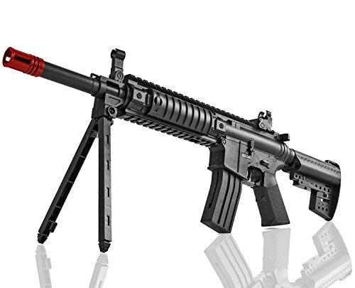 Nerd Clear Softair-Gewehr Softair Sturmgewehr schwarz unter 0,5 Joule ab 14 J.