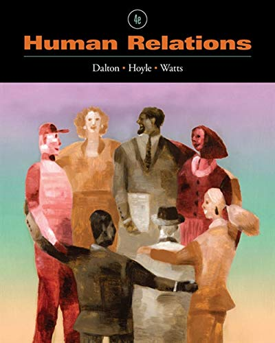 Human Relations (Available Titles CourseMate)
