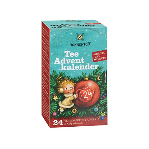Adventskalender-Tee (24 Aufgussbeutel im Spender) 2er-Pack