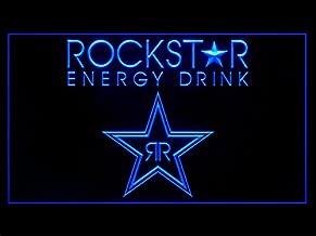 Rockstar Energy Drink (Pattern 3) Hub Bar Advertising LED Light Sign P757B