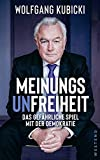Wolfgang Kubicki: Meinungsunfreiheit