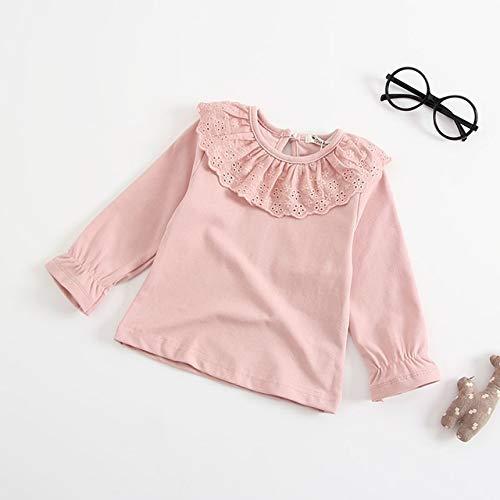 HAOJUE 2020 lindo mono de punto de conejo para niños de invierno, sin mangas, ropa para recién nacido, mono de una pieza (color: rosa, talla: 3T)