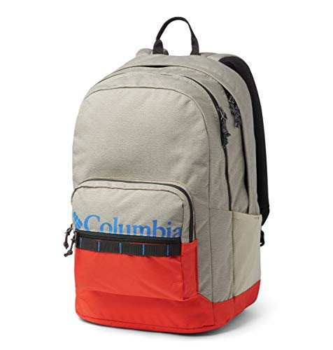 Columbia Unisex Zigzag 30l Backpack, Fossil/Wildfire, One Size