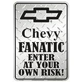 Chevy Fanaticメタルサイン
