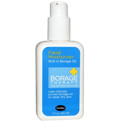 Shikai Products Borage Dry Skin Therapy Facial 24 Hour Repair Cream - 2 fl oz pack of - 8