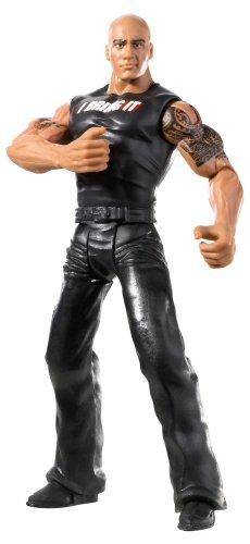 WWE - X3782 - Catch - Figurine Articulée - Série Flexforce - Le Rock - Harponnage