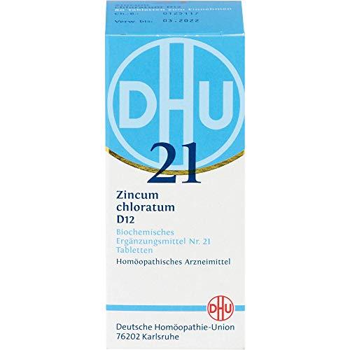 DHU Schüßler-Salz Nr. 21 Zincum chloratum D12 Tabletten, 80 St. Tabletten