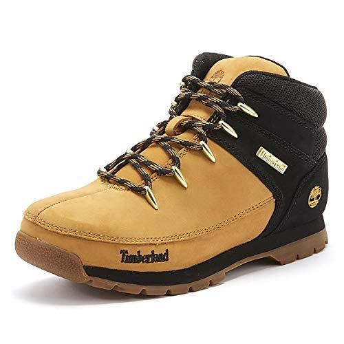 Timberland Unisex-Kinder Euro Sprint Chukka Boots, Gelb (Wheat Nubuck), 38 EU
