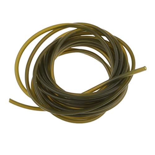 B Blesiya 1 Pc 2m Karpfen Rig Schlauch Posenschlauch Angeln Zubehör Für Karpfenangeln - Grün