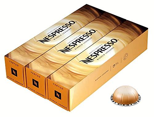 European Version of Nespresso Vertuoline made for Double Cappuccino (2.7 ounce): Bianco Leggero, 30 Capsules