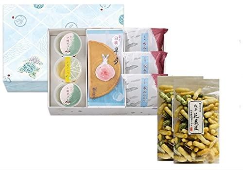 セット商品 鎌倉五郎本店 夏寄せ  二 12個入 季節限定 + 国産あられ2袋