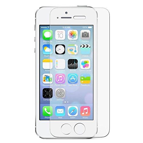 Temperato di Vetro dello Schermo Estremo Shock Protezione in Vetro per Apple iPhone 5 5S