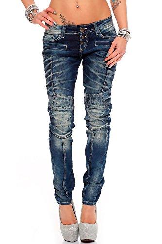 Cipo & Baxx Damen Jeans Modell-27 W28/L32