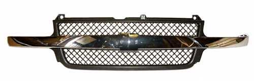 Sherman Replacement Part Compatible with Chevrolet Silverado Pickup Grille Assembly (Partslink Number GM1200523)