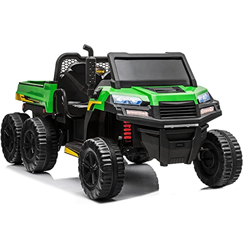 sopbost 2 Seater Kids Ride On Car with Remote Control 12V...