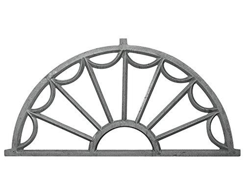 Fenster grau Stallfenster Eisenfenster Scheunenfenster 132cm Antik-Stil (g2)