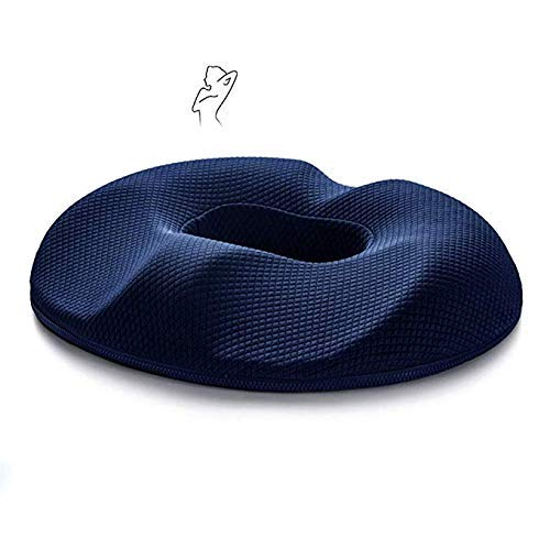 Orthopedic Ring Cushion Memory Foam Seat Cushion for Relieving Back, Sciatica, Tailbone Pain Coccyx Seat Pad