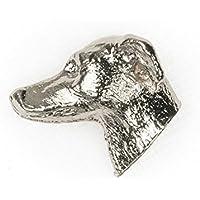 Pequeño Lebrel Italiano Hecho en Reino Unido Artístico Perro Pin Insignia Colección