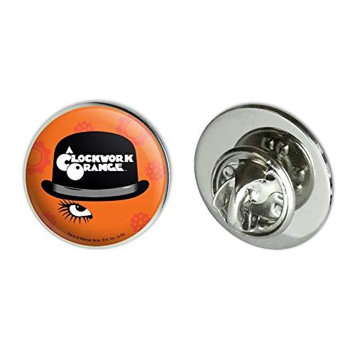 GRAPHICS & MORE A Clockwork Orange Hat and Logo Metal 0.75' Lapel Hat Pin Tie Tack Pinback