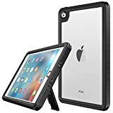 Vapesoon iPad Mini 4 Waterproof Case,Waterproof Shockproof Snowproof Clear Case with Adjustable Tablet