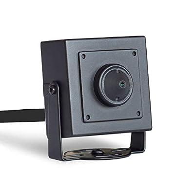 """Q-camera Mini Square Security Camera 1080P 2MP 4 in 1 TVI/CVI/AHD/CVBS HD Hidden Camera 1/2.7"""" Sensor 3.7mm Lens Surveillance System Camera for Indoor"""