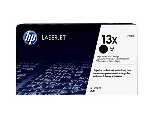 HP 13X (Q2613X) Schwarz Original Toner mit hoher Reichweite für HP Laserjet 1300, HP Laserjet 1300n