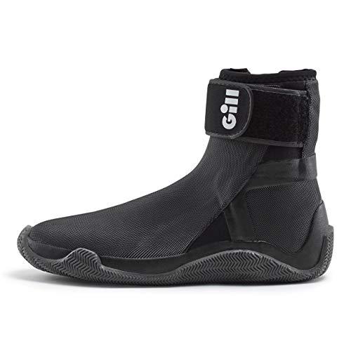 Gill Edge 4MM Neoprenanzug Stiefel Schuhe - Schwarz - Unisex. Wasserdicht - Schnürverschluss für verbesserte Passform