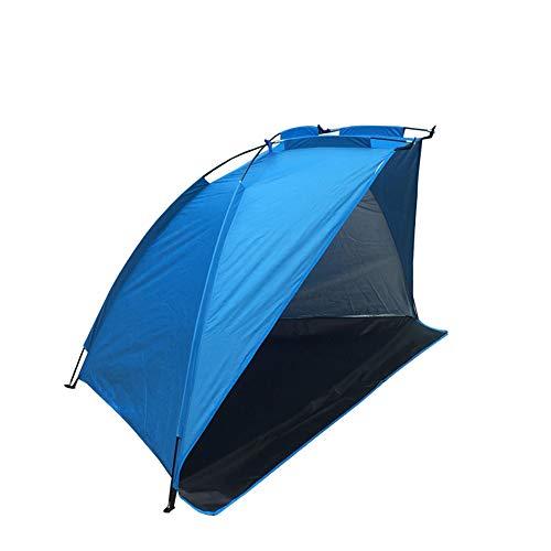 WJQ Outdoor Sonnenschutz Zelt Strand Markise Angelausrüstung Outdoor Camping Zubehör Starke und langlebige UV-Schutz wasserdichte Belüftung Starke Bequeme Angeln