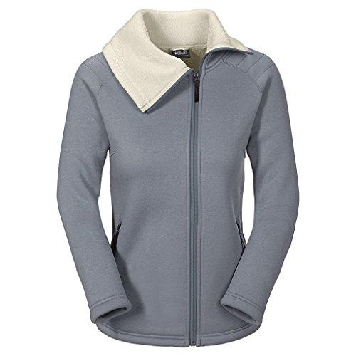 Jack Wolfskin Fleece, Groesse XL, graublau/meliert