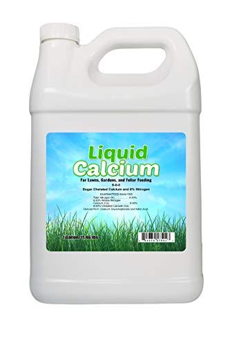 Nature's Lawn - Liquid Calcium - Liquid Lime Acidic Soil Amendment to Raise Soil pH, Non-Toxic,...