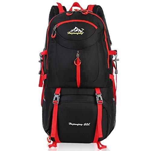 UKKD Backpack Mens 60L Men Hiking Backpacks Outdoor Backpack Camping Bag Waterproof Mountaineeringtravel Sport Bag Climbing Rucksack