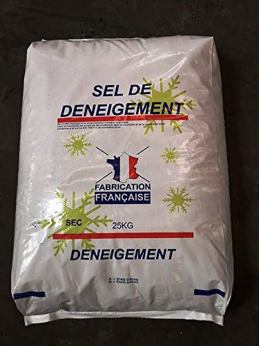 FRANCE VOIRIE Sel de déneigement en Sacs de 25 kg (1)